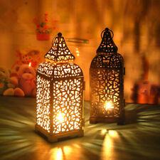 Vintage Hanging Candle Holder Moroccan Style Tealight Lantern Wedding Home Decor