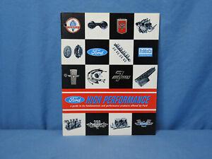 Rare Original NOS '66 Ford High Performance Speed Equipment Catalog Shelby Cobra