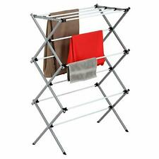 Oversize Large Folding Drying Rack Laundry Room Clothes Storage 3 Tier Metal New