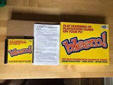 Bleem Playstation PC Big Box Rare Complete Emulation Software