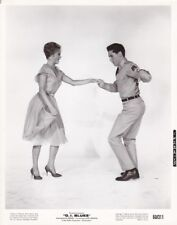 ELVIS PRESLEY JULIET PROWSE Dancing Original Vintage G.I. BLUES Paramount Photo