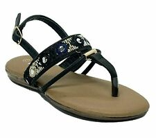 Link Ronnie-62 Girls' Black Dress Pageant Evening & Party Sandals size 13