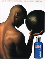 PUBLICITE ADVERTISING  1997   RALPH LAUREN  parfum POLO SPORT