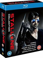 THE SYLVESTER STALLONE COLLECTION 5 MOVIE SET BLU-RAY