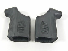 Universal 68 Black brake lever hoods for Vintage Road Racing Bicycle NOS genuine