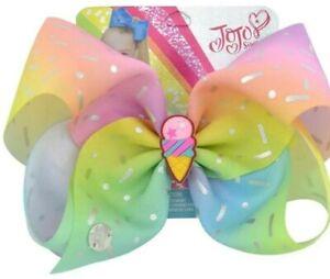 "Jojo 8"" Bow Ice Cream with Silver Sprinkles"