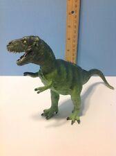 "10.5"" Long Vintage 1988 Tyrannosaurus Rex Carnegie Safari Toy Dinosaur Plastic"
