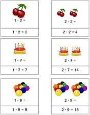 1200 Karten für die Setzleiste Mathematik Klasse 1 - 4 rechnen als pdf (Nr. 13)