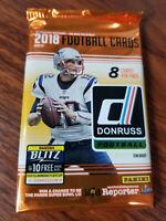 2018 donruss football 8 card Blaster pack lot  See below for full Checklist