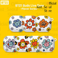 Official BTS BT21 Samsung Galaxy Buds Live Case Cover Flower Ver+Freebie+Track N