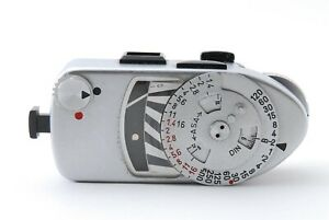 LEICA Meter MR MR-4 MR4 Silver for M2 M3 M4 M4-2 M4-P [Excellent++] From JAPAN