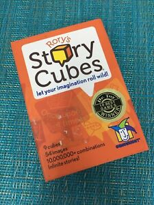 Gamewright Rory's Story Cubes Set of 9 Infinite Stories Wild Imagination Game NM