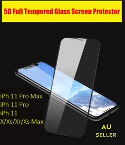5D Full Cover Temp Glass -3pk  Front+Back+Lens Glass For Phone 11PROMAX