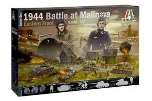 Italeri 6182 Battle at Malinava 1944 Eastern Front 1/72 Scale Diorama Set