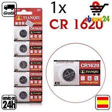 1x CR 1620 PILAS pila de botón baterías boton bateria ECR1620 3 V *Envío GRATIS