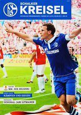 Programm | 2011-2012 | FC Schalke 04 v HJK Helsinki | UEFA Europa League