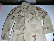 army issue DCU (desert combat uniform)  with patches