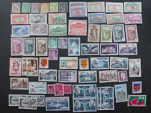 French Reunion 65 stamps 1891-1974 Lot FC45