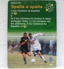 FOOTBALL CHAMPIONS Italiano 2002-03 - SPALLA A SPALLA - carta azione A55-VIERI