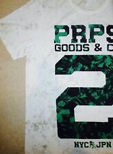 PRPS GOODS CO. Dirty White Mens ( XL ) Extra Large T Shirt Orig. $98+100% Cotton