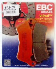 HARLEY DAVIDSON XL883 FERRO /L/ R (2014 to 2017) EBC PASTIGLIE FRENI ANT