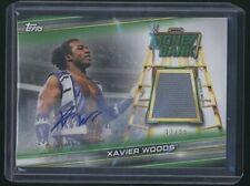 2019 Topps XAVIER WOODS Money Bank auto autograph mat relic /99 WWE
