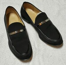 Gucci Horse Bit BLACK Business Dress Loafer Shoes 100 0438 8 Womens SIZE 7-B