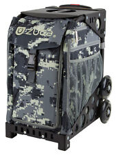 Zuca Bag Anaconda Insert & Black Frame w/Non-Flashing Wheels - Free Seat Cushion