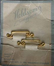 Holdsem Lingeriette Sew-in Lingerie Strap Holder on original card 1920s vintage