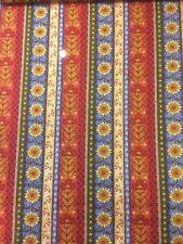 Classic Folk Art 1169 Sunflower Stripe Fabri-Quilt 100 Cotton Quilting Fabric
