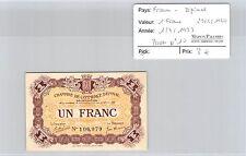 BILLET DE NÉCESSITÉ - FRANCE - EPINAL- 1 FRANC - 1.7.1923 / 29.5.1920
