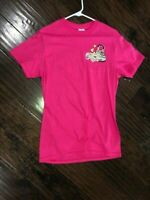 Cherished Girl Hot Pink T-Shirt S Small Jesus Fills My Heart Purse Gold Glitter