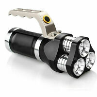 Spotlight Handheld T6 LED Taschenlampe 18650 wiederaufladbare Lampe Taschenlampe