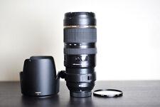 Tamron AF 70-200mm F/2.8 VC FX Telephoto Lens w/ UV Filter - For Nikon!