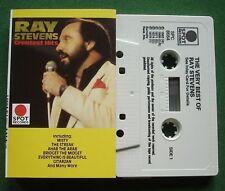 The Very Best Of Ray Stevens inc The Streak / Gitarzan + Cassette Tape - TESTED