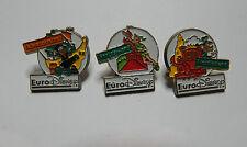 More details for set of 3 euro disney badges