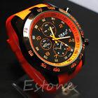 Stainless Steel Luxury Sport Analog Quartz Men Fashion Military Army Wrist Watch
