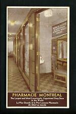Pharmacy / Drug Store postcard Interior Salon Luxury Pharmacie Montreal, Canada