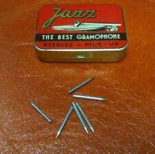 N°6 Puntine speciali needles  pickup  per grammofono originali d'epoca. 04EA