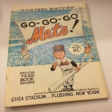New York Mets Official 1966 Yearbook Excellent Condition Rare Baseball Find