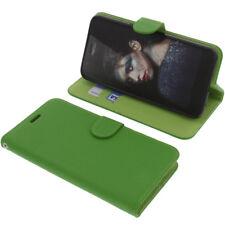 Custodia Per Tp-Link Neffos N1 Book-Style Protettiva Cellulare Libro Verde