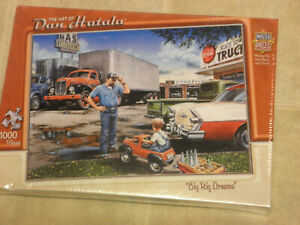 """Puzzle. """" Big Rid Dreams"""" 1000 Pieces, New, Never opened. Free Shipping."""