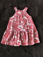 Old Navy Flower And Butterfly Sundress Infant Girls Size 18-24 Months
