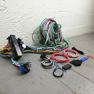 1932-1948 Packard Underdash 12V Wiring Harness Conversion Kit 15 fuse 22 Circuit
