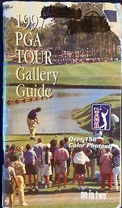 VTG 1997 PGA Tour Gallery Guide Tiger Woods Rinker Jones Kelly Sign Memorabilia