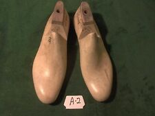 Vintage 1940 Pair US NAVY Shoe Lasts  Size 11 E STERLING Factory Mold #A-2