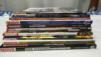 Marvel large Lot of 12 Assorted Graphic novels TBD for sale