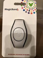 Disney Parks White Magic Band 2 MagicBand Ready to Link Solid Color