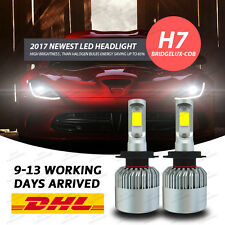 H7 160W 25000LM LED Headlight Fog Lamp 6000K Conversion Kit Replace Xenon HID