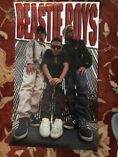 The Beastie Boys On Capitol Records original promotional poster from 1992